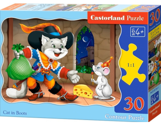 Puzzle Castorland 30 dílků - Kocour v botách