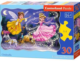 Puzzle Castorland 30 dílků - Popelka