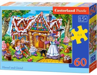 Puzzle 60 dílků - Jeníček a Mařenka