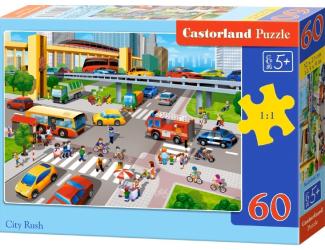 Puzzle Castorland 60 dílků - Křižovatka