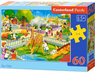 Puzzle 60 dílků - Návštěva ZOO