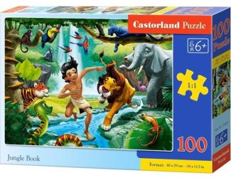Puzzle 100 dílků premium - Kniha Džuglí