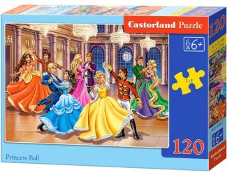 Puzzle 120 dílků - Bál pro princeznu