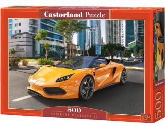 Puzzle 500 dílků- Žluté Arrinera Hussarya 33