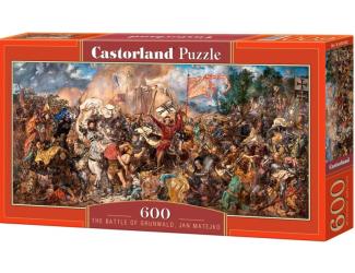 Puzzle 600 dílků - Bitva na Grunwaldu, Jan Matejko