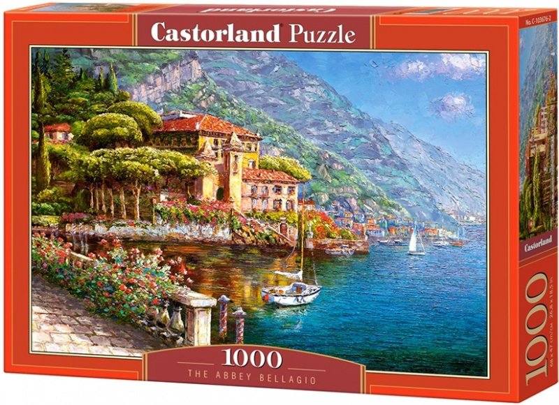 Puzzle Castorland 1000 dílků - The Abbey Bellagio
