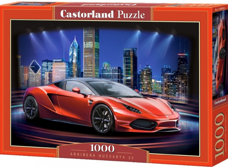 Puzzle Castorland 1000 dílků- Červené Arrinera Hussarya 33