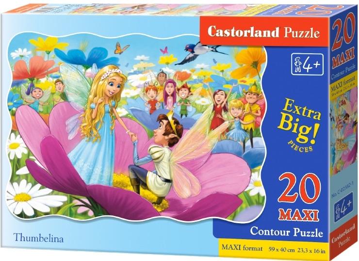Puzzle Castorland MAXI 20 dílků - Malenka