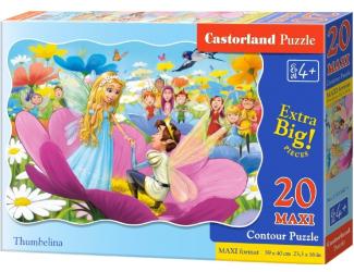 Puzzle maxi 20 dílků- Malenka