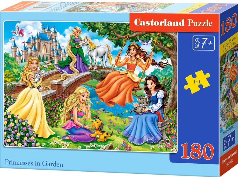 Puzzle Castorland 180 dílků - Princezny v zahradě