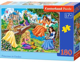 Puzzle 180 dílků - Princezny v zahradě