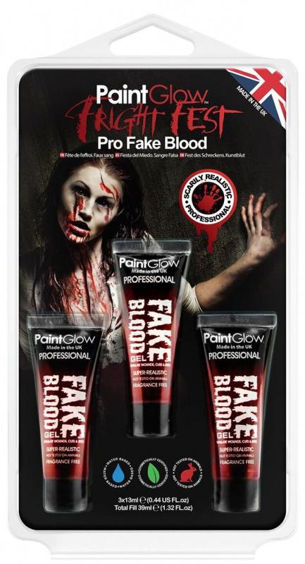 Sada falešné krve - 3 x 13 ml