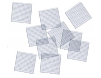 Destička pro zažehlovaní - čtverec, 10 ks, 8 x 8  cm