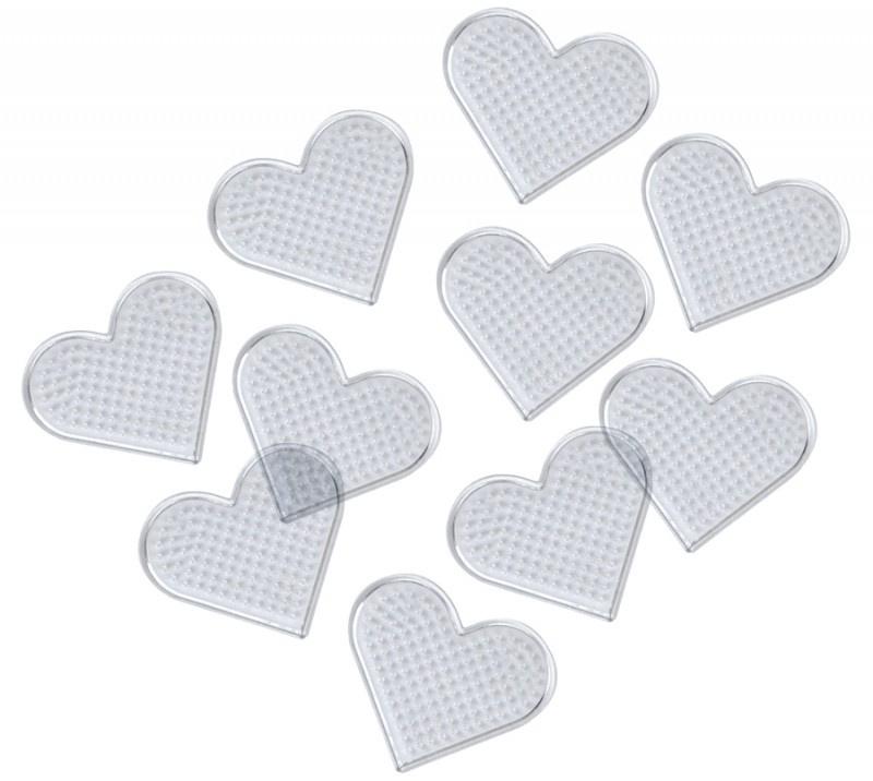 Destička pro zažehlovaní - srdce 8 x 8 cm