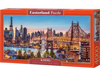 Puzzle 4000 dílků - Večer v New Yorku
