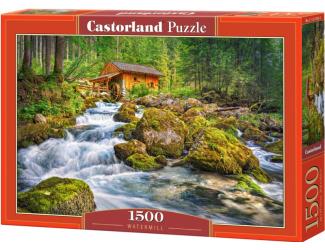 Puzzle 1500 dílků- Vodní mlýn