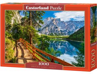 Puzzle 1000 dílků - Jezero Braise, Italie