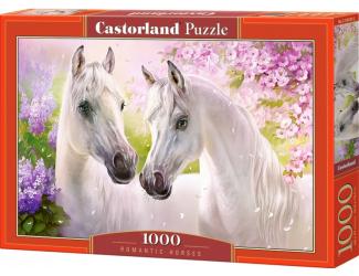 Puzzle 1000 dílků - Zamilovaní koně