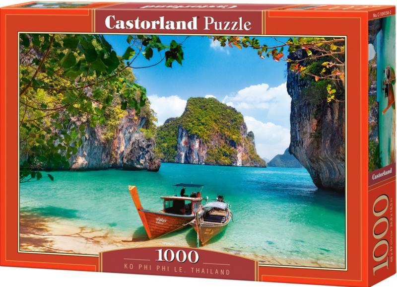 Puzzle Castorland 1000 dílků - Ko Phi Phi le, Thajsko