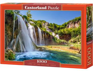 Puzzle 1000 dílků - Země vodopádů
