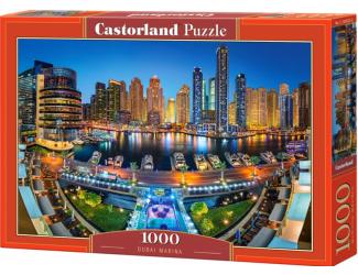 Puzzle 1000 dílků - Přístav v Dubaji