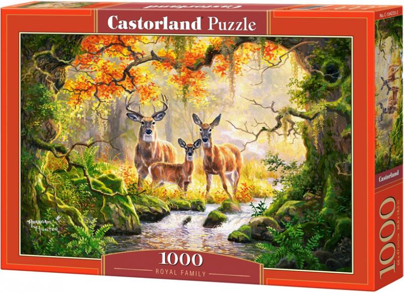 Puzzle Castorland 1000 dílků - Královská rodina