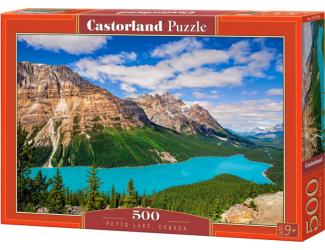 Puzzle 500 dílků-  Jezero Peyto, Kanada