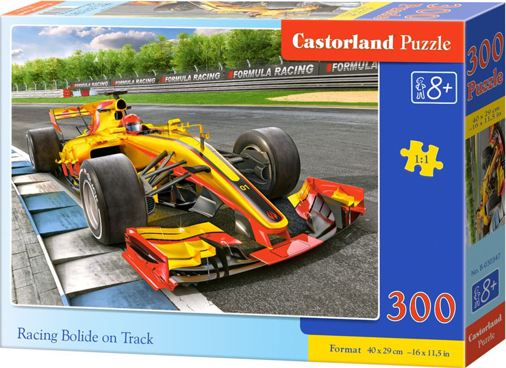 Puzzle 300 dílků- Formule na trati