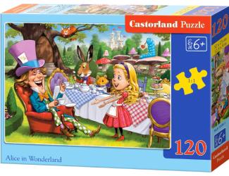 Puzzle 120 dílků - Alenka v říši divů