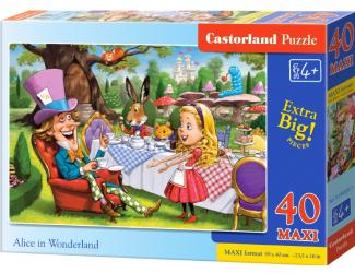 Puzzle MAXI 40dílků - Alenka v říši divů
