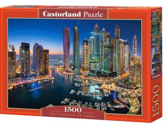 Puzzle 1500 dílků- Mrakodrapy v Dubaji