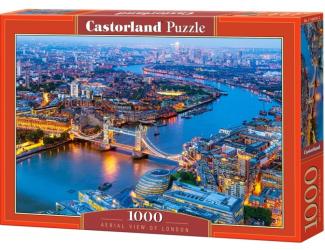Puzzle Castorland 1000 dílků - Letecký pohled na Londýn