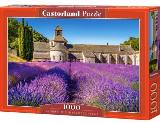 Puzzle Castorland 1000 dílků - Levandulové pole v Provence