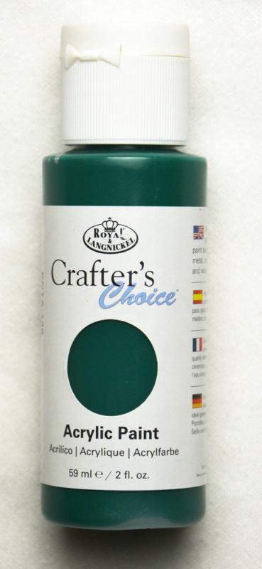Akrylová barva 59 ml - tmavě zelená (Deep Green)