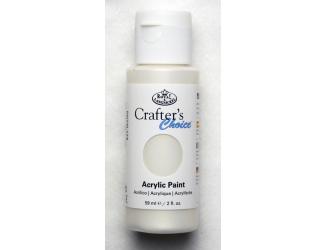 Akrylová barva perleťová 59 ml - bílá (Pearl White)