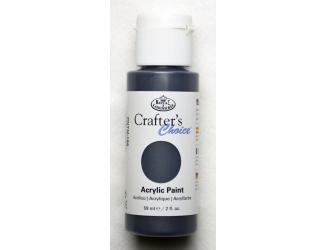 Akrylová barva perleťová 59 ml - černá (Pearl Black)