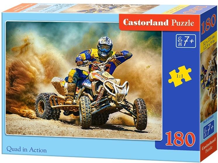 Puzzle Castorland 180 dílků - Čtyřkolka v poušti