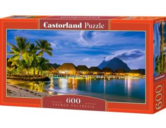 Puzzle 600 dílků - Francouzská Polynesia