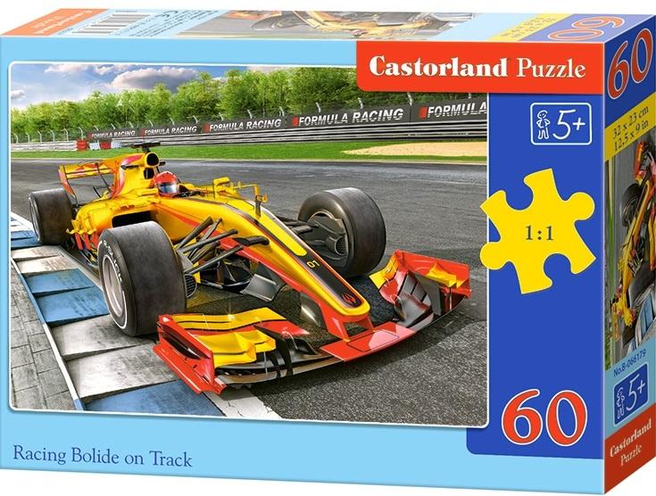 Puzzle Castorland 60 dílků - Formule na trati