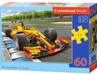 Puzzle 60 dílků - Formule na trati