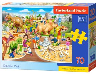 Puzzle 70 dílků premium - Dinosauří park