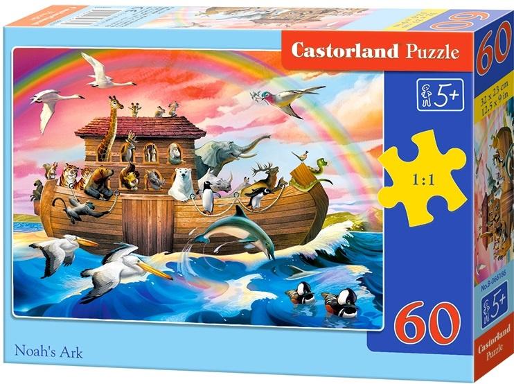 Puzzle Castorland 60 dílků - Noemova archa