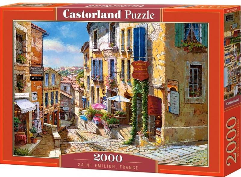 Puzzle Castorland 2000 dílků - Saint Émilion, Francie