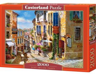 Puzzle Castorland 2000 dílků- Saint Émilion, Francie