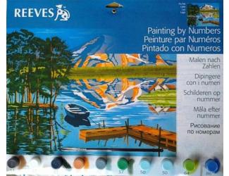 Malování podle čísel- Jezero