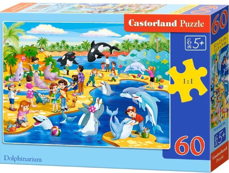 Puzzle Castorland 60 dílků - Delfinárium
