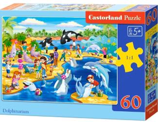 Puzzle 60 dílků - Delfinárium