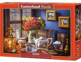Puzzle 500 dílků- Japonský čajový set