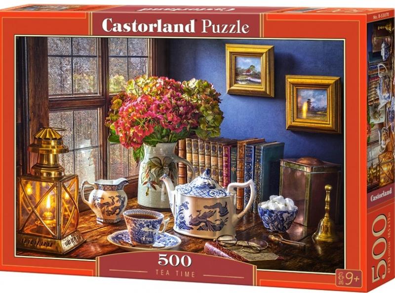 Puzzle Castorland 500 dílků - Japonský čajový set