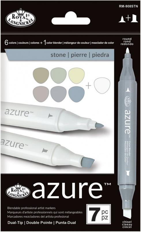 "Grafické fixy - Royal barvy ""stone"""